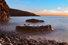 Dunraven Bay (parry101) Tags: southerndown dunraven bay bridgend sunset sunsets sky skies cloud clouds south wales sea seas water ocean long exposure exposures rock rocks seascape landscape landscapes seascapes coast shore le longexposure orange warm seaside beach outdoor