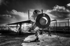 English Electric Lightning (nigdawphotography) Tags: englishelectriclightening jet fighter bomber raf british manston kent