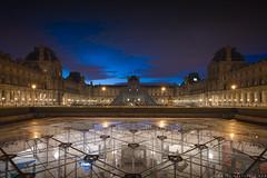 louvre paris (www.thierryfaula.com www.thierryfaula.com www.thie) Tags: louvre mus muse paris france capitale capitl parisien parisienne art arts soir soire soir dri hdr