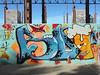 167 (en-ri) Tags: tng crew giallo blu bujo beer birra boccale schiuma torino wall muro graffiti writing parco dora