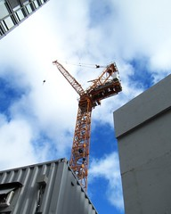 Y in the sky (siong.lewis) Tags: constructioncranes construction urban
