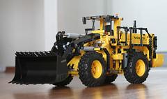 LEGO Technic 42030 - Volvo L350F Wheel Loader (baty85) Tags: lego technic 4230 l350f wheel loader