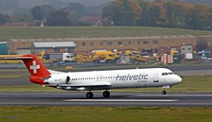 Helvetie HB-JVC  J78A2198 (M0JRA) Tags: birmingham airport bhx egbb planes helvetie hbjvc aircraft flying jets