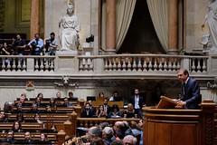 Pedro Passos Coelho no Parlamento