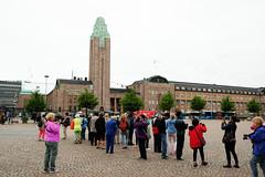 Saarinen's Central RR Station (DSLEWIS) Tags: finland suomi helsinki baltic balticcruise koningsdam architecture railway station bahnhof centralrailwaystation saarinen