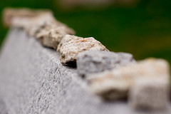 Placing a Stone (marcn) Tags: nh nashua newhampshire unitedstates us holocaustmemorial
