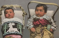 "UP Sault Ste. Marie MI 1904 ORPHAN BOYS NATIVE AMERICAN INDIAN BABIES in COLORFUL PAPOOSE BUNDLES DPC Card 6888 Titled BROTHER IN EXILE3 (UpNorth Memories - Donald (Don) Harrison) Tags: vintage antique postcard rppc ""don harrison"" ""upnorth memories"" upnorth memories upnorthmemories michigan history heritage travel tourism ""michigan roadside restaurants cafes motels hotels ""tourist stops"" ""travel trailer parks"" campgrounds cottages cabins ""roadside entertainment"" ""natural wonders"" attractions usa puremichigan "" ""railroad ferry"" ""car excursion"