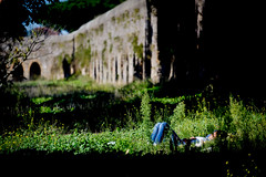 (massimopisani1972) Tags: parco degli acquedotti roma rome italia italy massimopisani massimo pisani riposo pennichella nap nikon d610 20300