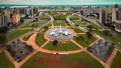 Monumental Axis from the TV Tower, Brasília (chrisgj6) Tags: brazil brasília tiltshift miniature monumentalaxis tvtower distritofederal br