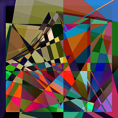 Quantum Entanglement (Stacy Ann Young) Tags: digitalart abstract colorful entanglement quantumphysics