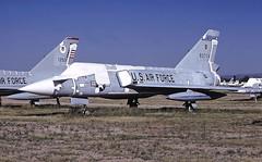 F-106A   80774 (TF102A) Tags: aviation aircraft kodachrome f106 convair deltadart amarc amarg masdc boneyard