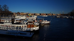 Boats, winter and water (mpersson60) Tags: stockholm btar boats hav sea vinter winter