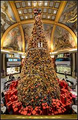 Navidad en Galerías Pacífico (Totugj) Tags: nikon d5100 sigma 816mm granangular arbol de navidad galerías pacífico buenosaires argentina decoración noel christmas