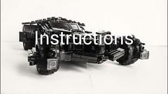 BvS Batmobile BACK IN STOCK !! (Sir Prime) Tags: lego batman batmobile batfleck batmanvsuperman bvs custom moc