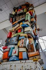 _V1A4680.jpg (geekteach) Tags: sculpture thanksgiving luggage sacramentoairport sacramento