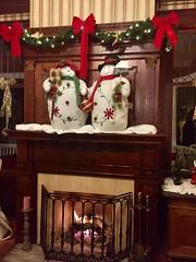 Snowmen at Churchill Manor Napa Bed & Breakfast Tour (Nancy D. Brown) Tags: california napa snowman snowmen napabedbreakfasttour
