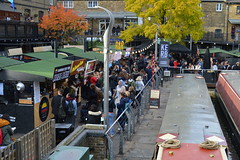 Bites And Boats (dhcomet) Tags: london camden lock market nw1 lunch food canal boat street busy bustling