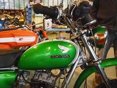 Honda 250 SL (Stphane DECOOL) Tags: honda 250 sl verte