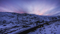 Sunset over Honister Pass (Phil Maddison) Tags: sunset honister pass slatemine snow cumbria lakedistrict england photography canon eos 40d efs1022mm landscape