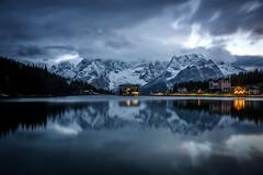 Reflections on Lake of Misurina, Dolomites, Italy (diana_robinson) Tags: auronzodicadore dolomites italy lakeofmisurina lake reflections