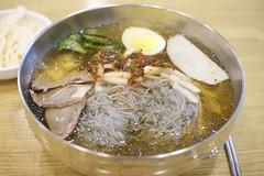 Hamheung-style Cold Noodles (Kim Jin Ho) Tags: cold noodles soup korean culture tuorist travel destination famous place gangnam seoul