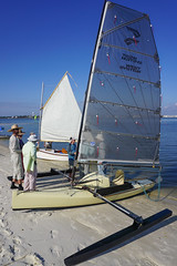 Attending the West Coast Trailer Sailing Squadron Cedar Key Event, Saturday 11.19.16 (dsrphotography) Tags: boat cedarkey florida sail sailing shallowdraft gougeon woodwind