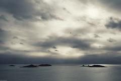 Islander on its Way back (derriesen) Tags: sky scilly travel vacation atlantic ocean sea clouds islands stmartins nikondf 3520 lighting