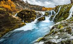 Iceland - Stangarvegur (Henk Verheyen) Tags: gjin ijsland iceland stangarvegur autumn buiten flickr fotoreis herfst landscape landschap nature natuur outdoor waterfall waterval