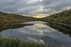 Torduff Reservoir Edinburgh (Colin Myers Photography) Tags: tordu reservoir edinburgh torduffreservoir reservoiredinburgh bonaly pentland hills water reflections calm tranquil nature serene scotland scottish colinmyersphotography colin myers photography