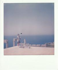 Hommage a Martin Parr 4 (Simone.Morgagni) Tags: acropoli grce grecia greece impossible project lindos martin parr polaroid sx70 tourism tourists turismo turisti