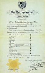 #Albert Einstein's report card from university [1896] [630 x 1030] #history #retro #vintage #dh #HistoryPorn http://ift.tt/2fXM4T2 (Histolines) Tags: histolines history timeline retro vinatage albert einsteins report card from university 1896 630 x 1030 vintage dh historyporn httpifttt2fxm4t2