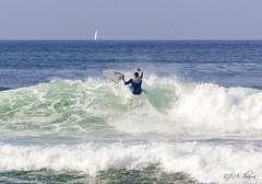Surf Playa La Salvaje (downtownfc) Tags: surf lasalvaje sopelana olas waves tabla espuma