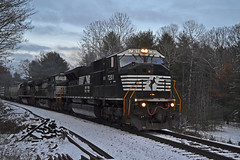 SD80MAC Attack (ERIE1960) Tags: railroad railfan trains norfolksouthern emd canadianpacific locomotive sd80mac