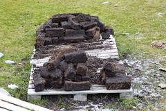 Peat used for Heating, Bluff Cove, Falkland Islands (Joseph Hollick) Tags: falklandislands bluffcove peat heatingfuel