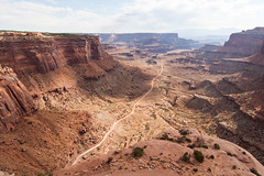 Canyonlands (derekbruff) Tags: canyonlands shafercanyon utah dirtroad landscape nationalpark overlook