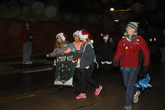 Girl Scout Troop 4615 (City of Melissa Tx) Tags: melissachristmas2016 melissa area chamber commerce christmas parade public library