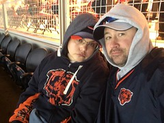 me and nathalie. december 2016 bears vs 49ers (timp37) Tags: me nathalie chicago bears game illinois soldier field nat december 2016 football 49ers nfl