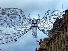 Regent Street, London, 2016 (mira66) Tags: angel lights christmas xmas london regentstreet decoration 2016