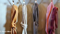 Scarves (patrick_milan) Tags: texture tissus bag sac decoration scarf sack