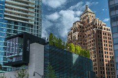 Downtown Vancouver, British Columbia, Canada (April 2016) (*Ken Lane*) Tags: can geo:lat=4928890753 geo:lon=12311759681 geotagged vancouverwaterfrontcoalharbourcanadaplace westend bc britishcolumbia britishcolumbiacanada canada canadiancity canadianseaportcity cityofvancouver ciudad coastalseaportcity gastown kanada northamerica pacificnorthwest seaportcity stad stadt vancouver vancouverbc vancouverbritishcolumbia vancouverbritishcolumbiacanada vancouvercanada vancouvercity vancouverite westcoast yvr               28300 nikond800 nikon28300 nikon28300vr buildings architecture discoveryphotos nikonflickraward vividstriking