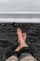 Black sand beach - near Höfn í Hornafirði (Andrea_Lazzarato) Tags: iceland islanda 2015 travel adventure avventura road n°939 egilsstaðir höfn í hornafirði black blacksandybeach sand sea ocean atlantic