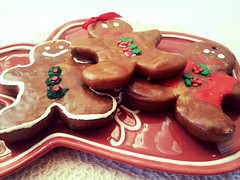 Primitive Gingerbread Ornies Scented Gingerbread People Set of 6 Ornaments (Everything Dawn Bakery Candle Treats) Tags: people man men girl cookie gingerbread ornament ornaments prim primitive scented ornie ornies gingie everythingdawn extremeproteam