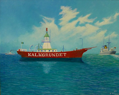 kalkgrundet lighthouse ship