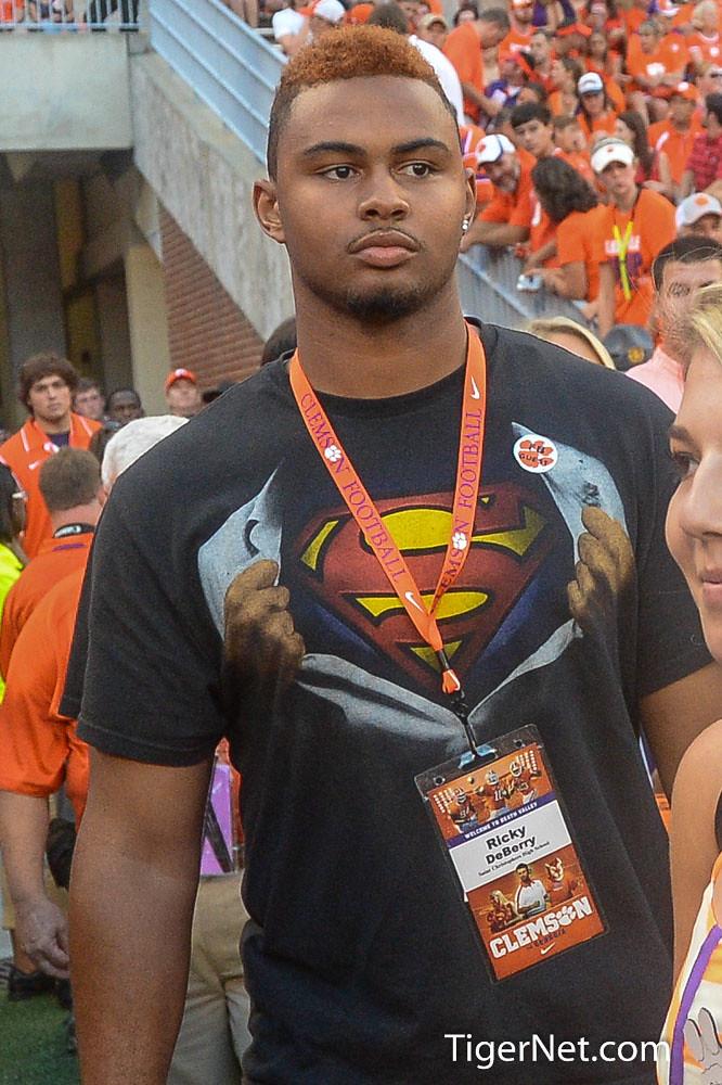 Clemson Photos: 2013, Football, Georgia, Recruiting, Ricky  Deberry