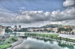 _DSC5071-77_tonemapped (emilianofelicissimo) Tags: river verona hdr adige tonemapped