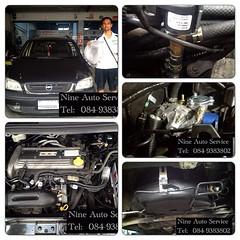 Chevrolet Zafira 2.2   หัวฉีดเดี่ยว Donut 43 L สามารถชมงานติดตั้งแก๊ส LPG นัดคิวติดตั้ง ตรวจเช็คระบบ ปรับจูน  ได้ที่ Nine Auto Service  ลำลูกกา คลอง 6 โทร 084-9383802 http://www.facebook.com/nineautoservice.2011