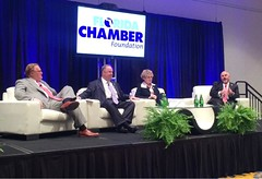 Rep. Matt Hudson was happy to moderate the CEO Roundtable event at the Florida Chamber of Commerce's Future of Florida Forum. Rep. Hudson was also honored to be recognized as a Distinguished Advocate by the Florida Chamber of Commerce.