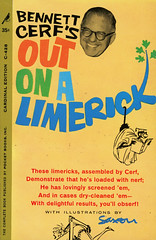 Cardinal Books C-428 - Bennett Cerf - Out on a Limerick (swallace99) Tags: vintage poetry cardinal paperback limerick bennettcerf charlessaxon