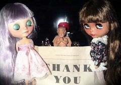 Blythe-a-Day October#30: Mexican Day of the Dead: With Lyra and Dafina
