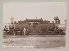Double Ifairlie [sic] Engine Used on Vera Cruz Road. (SMU Central University Libraries) Tags: mexico railways railroadtracks fairlielocomotives mexicocityandveracruzrailways locomotive63